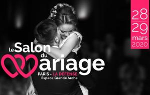 Le salon du mariage paris la defense 2020